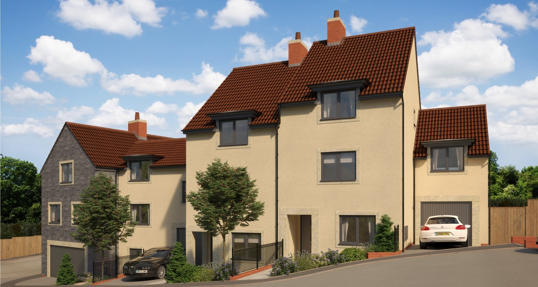 Pippard\'s Court | New Homes in Somerton, Somerset | Elan Homes