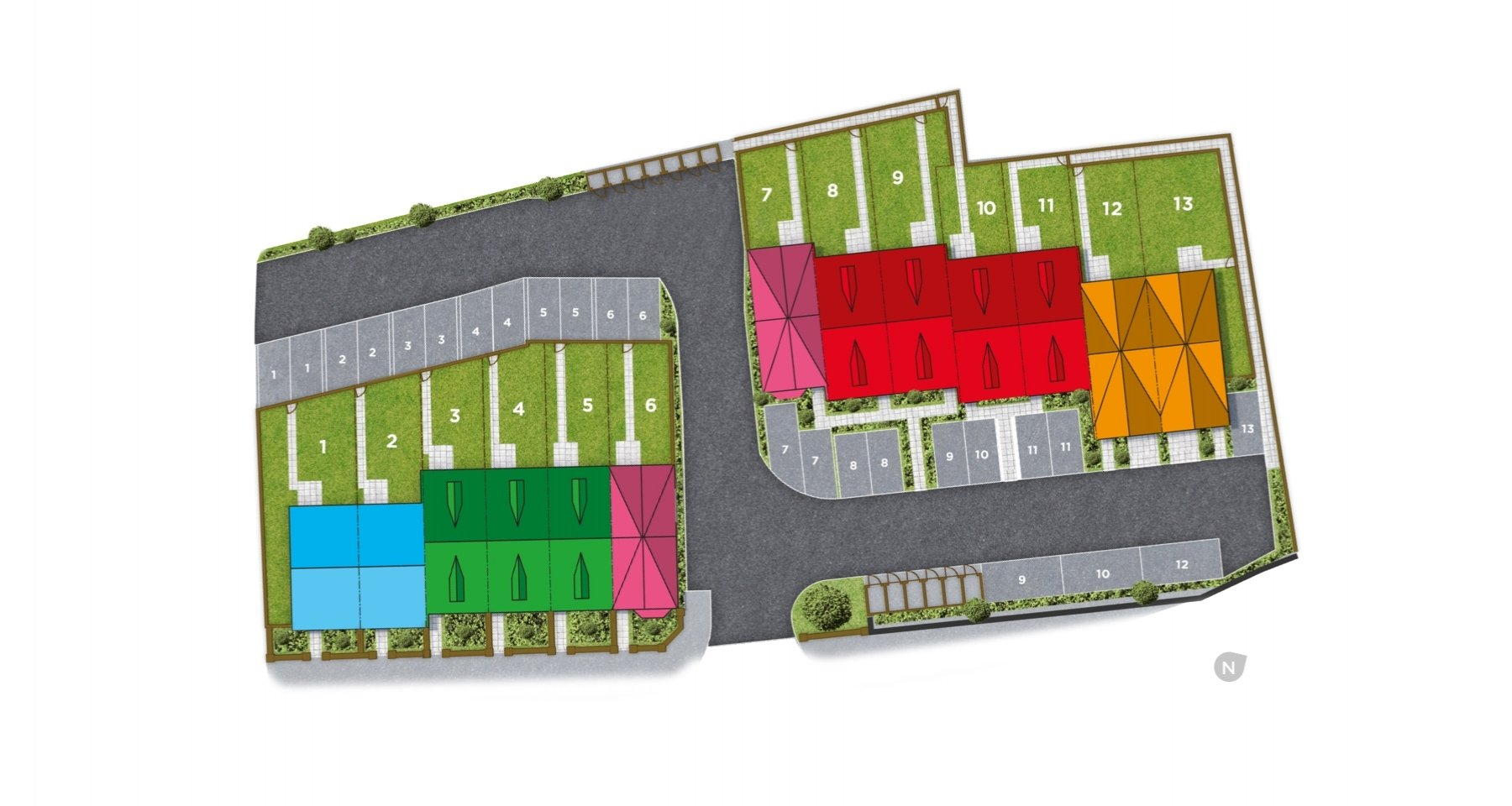 Handforth Court Site Plan